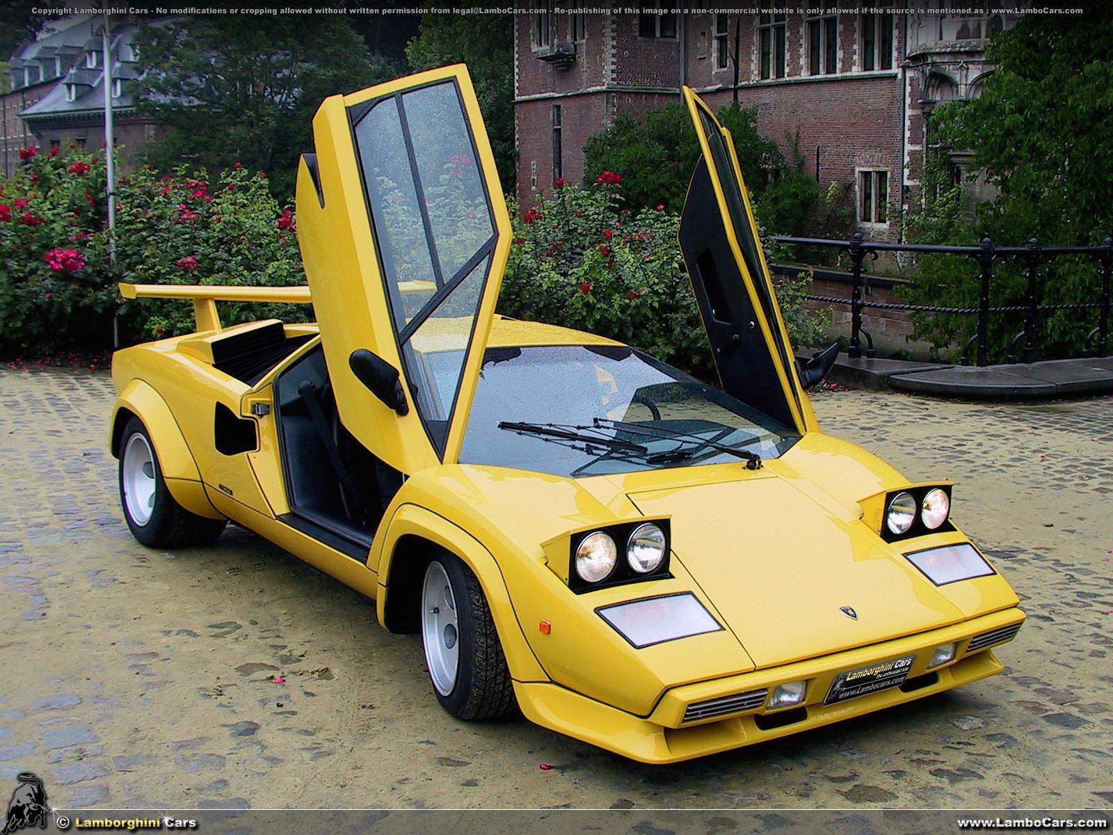 Lamborghini Countach S Quattrovalvole 426 Hp